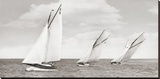 Sloops racing, 1926 Stretched Canvas Print by  Anonymous