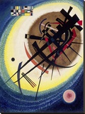 The Bright Oval Stretched Canvas Print by Wassily Kandinsky