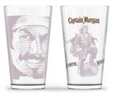 Captain Morgan - Tonal Pub Glass - Set of 2 Novelty