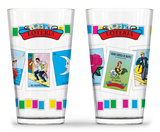 Loteria - Cards Pub Glass - Set of 2 Novelty