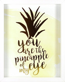 You Are The Pineapple of My Eye Wall Sign