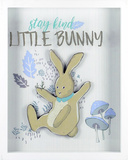 Stay Kind Little Bunny Wall Sign
