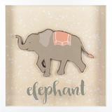 Elephant Wall Sign