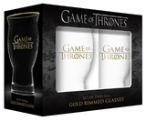 Game of Thrones - Revival Glass with Real Gold Rim - Set of 2 Novelty