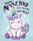 Eenhoorn - 'You're amazing'  Affiches