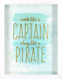Captain Pirate Wall Sign