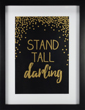 Stand Tall Wall Sign