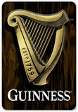 Guinness - Harp 3-D Wood Sign