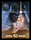 Star Wars 40th Anniversary - New Hope Art Collector-tryk