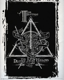 Harry Potter Deathly Hallows Graphic Plakater