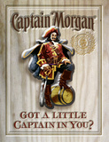 Captain Morgan - Got A Little Captain in You Wood Sign