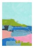 Landschaft Nr. 96 (abstrakt, farbenfroh) Kunstdrucke von Jan Weiss