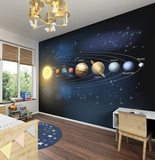 Planets Wall Mural Wall Mural