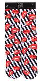 Hot Lips Socks Socks