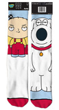 Family Guy - Stewie/Brian Socks Socks
