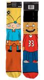 Hey Arnold - Arnold/Gerald Socks Socks