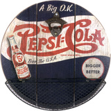 PEPSI COLA Wood Sign