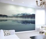 Cloudy Peaks Wall Mural Wall Mural