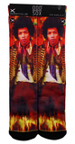 Jimi Hendrix - Guitar God Socks Meias