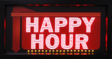 HAPPY HOUR Light Up Sign