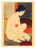 Woman after a Bath Prints by Goyo Hashiguchi