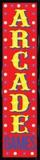 ARCADE GAMES Light Up Sign