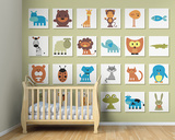 It's A Wild Life Wall Mural Wall Mural