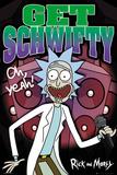 Rick & Morty Schwifty (amerikanische Zeichentrickserie, Humor für Erwachsene) Poster