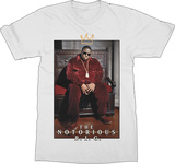 Notorious B.I.G. - Biggie Crown Throne Shirts