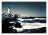 Faro, Peggy's Cove Stampe di David W. Pollard
