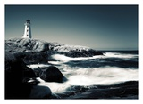 Lighthouse, Peggy's Cove Posters by David W. Pollard