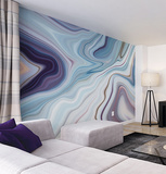 Marbled Ink Wall Mural Wall Mural