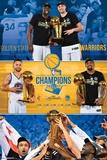 Finais da NBA 2017 - Comemoração dos Warriors Posters