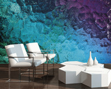 Colored Glass Wall Mural Wall Mural