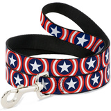 Captain America - Shield Repeat Dog Leash Novelty