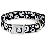 Nightmare Before Christmas - Jack Expressions Dog Collar Novelty