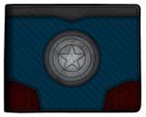 Marvel Captain America - Carbon Fiber Bi-Fold Wallet Wallet