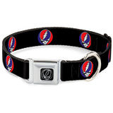 Grateful Dead - Steal Your Face Dog Collar Novelty