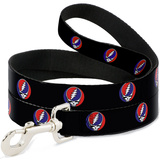 Grateful Dead - Steal Your Face Repeat Dog Leash Novelty