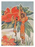 Aloha Nui From Hawaii - Hawaiian Hula Dancers Prints by Ted Mundorff