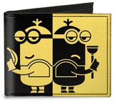 Despicable Me 3 - Spy v. Villain Minions Silhouette Canvas Wallet Wallet