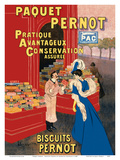 Paquet Pernot - Biscuits Pernot - French Biscuit Company Posters by Leonetto Cappiello