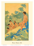 Kimo, Hawaii Posters by Lucille Webster Holling