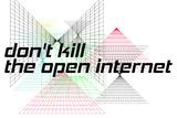 Net Neutrality: Don't Kill The Open Internet (White) Poster