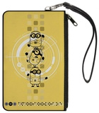 Despicable Me 3 - Gadget Minions Target Canvas Zipper Wallet Wallet