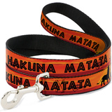 Lion King - Hakuna Matata Sunset Dog Leash Novelty