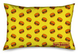 Bob's Burgers - Scattered Burgers Standard Pillowcase Novelty
