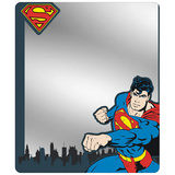 Superman - Skyline Blues Locker Mirror Novelty