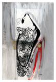 Série Dorure 7 Posters by Sylvie Cloutier