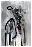 Série Dorure 8 Poster by Sylvie Cloutier